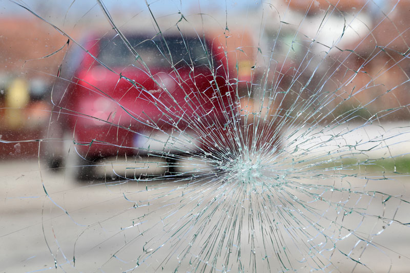 What to Do When a Rock Hits Your Windshield